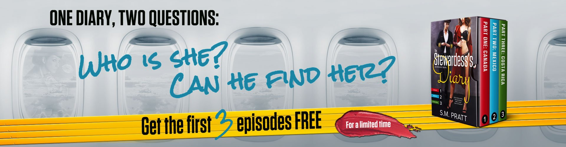 One Diary, Two Questions. Get the first 3 episodes FREE